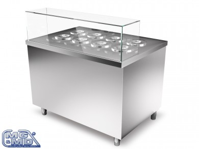 Moving Glass Moduli Gelateria