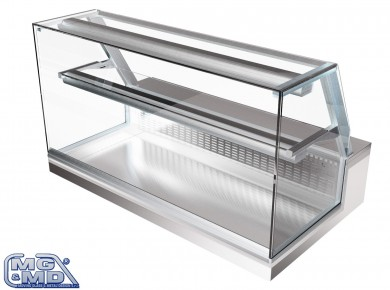 Banco frigo - vetrina refrigerata per panini