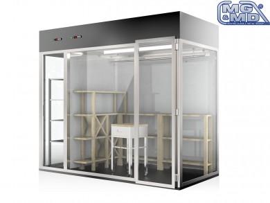 vetrina armadio refrigerata per ristoratori e enologi