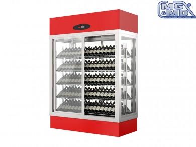 espositore vini refrigerato