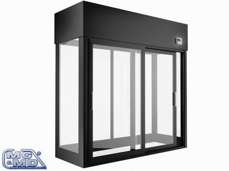 cella refrigerata ventilata panoramica