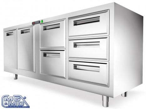 moduli refrigerati da 1 a 5 fori
