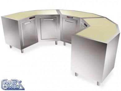 modulo refrigerato per angoli bar
