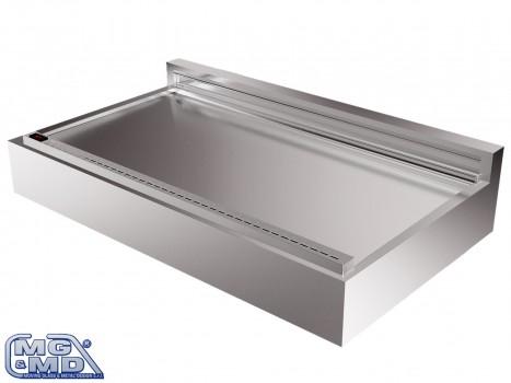 vasca refrigerata con piano sollevabile