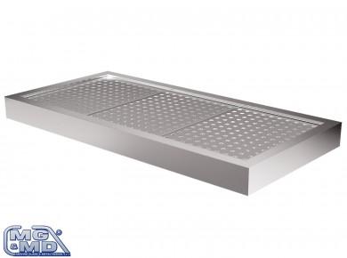 vasca refrigerata per teglie o vassoi forati
