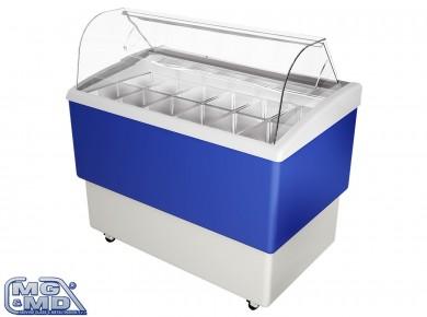 banco frigo vetrina refrigerata per gelateria spostabile liberamente