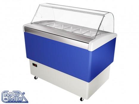 banco frigo vetrina refrigerata su ruote