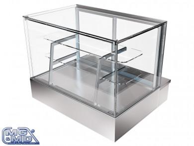 vetrina refrigerata per pasticceria e snack bar