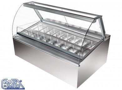 Banco frigo vetrina refrigerata per pasticcerie