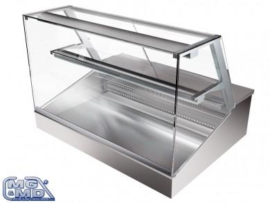 Banco frigo vetrina refrigerata a ripiani