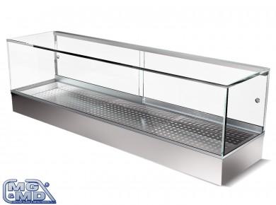 vetrina refrigerata per sushi bar