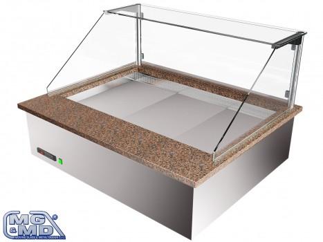 Banco frigo vetrina refrigerata per pizzerie e gastronomie