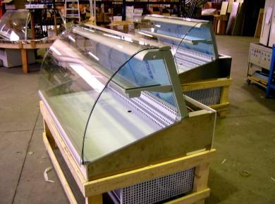vetrina refrigerata angolo chiuso