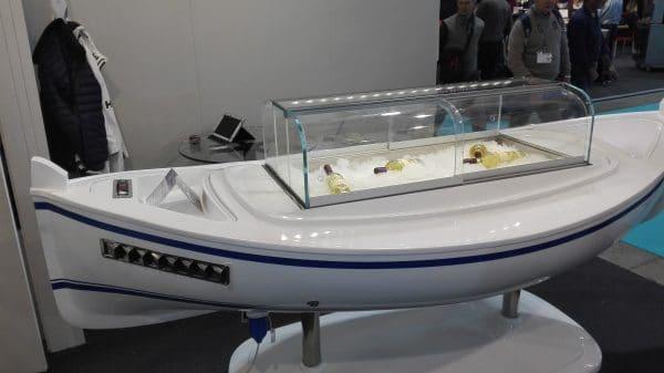 barca refrigerata